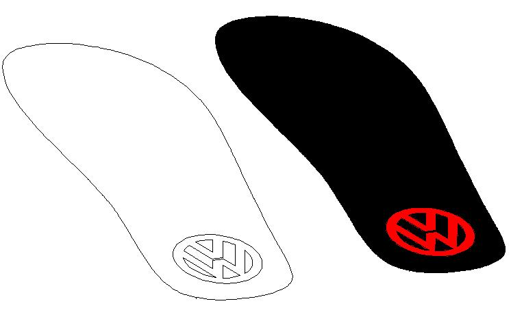 simulasi sandal sebelum dibuat