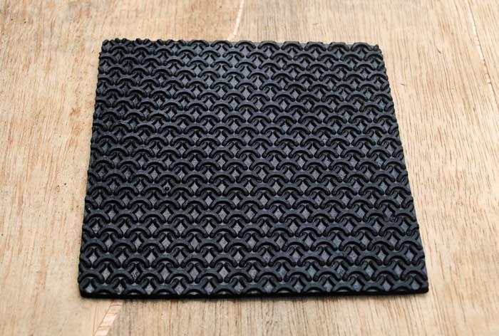 sole lembaran motif silang ( X )