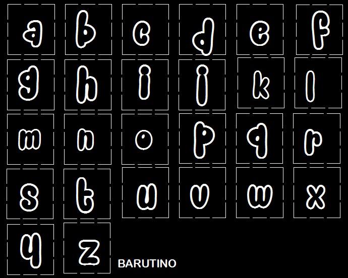 snacker comic font untuk huruf kecil