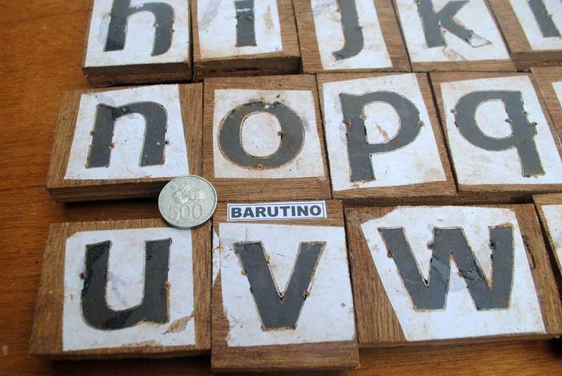 tipe-font-baar-metanoia-mudah-dibaca