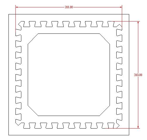desain pisau puzzle