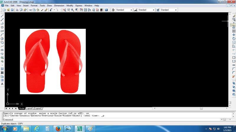 copy gambar dan ditaruh disamping gambar asli