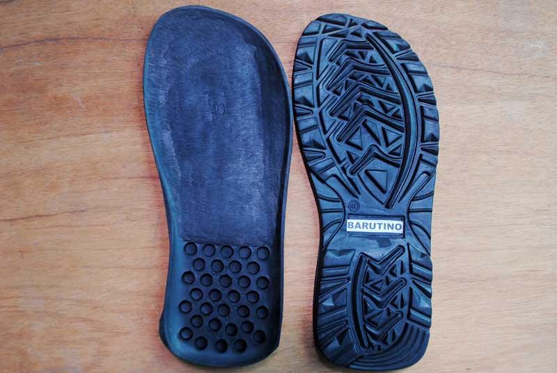 Berbagai macam outsole sandal