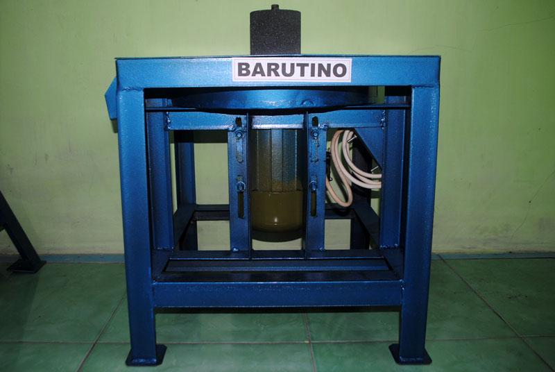 Mesin gerinda dengan daya 370 watt cocok untuk industri sandal rumahan