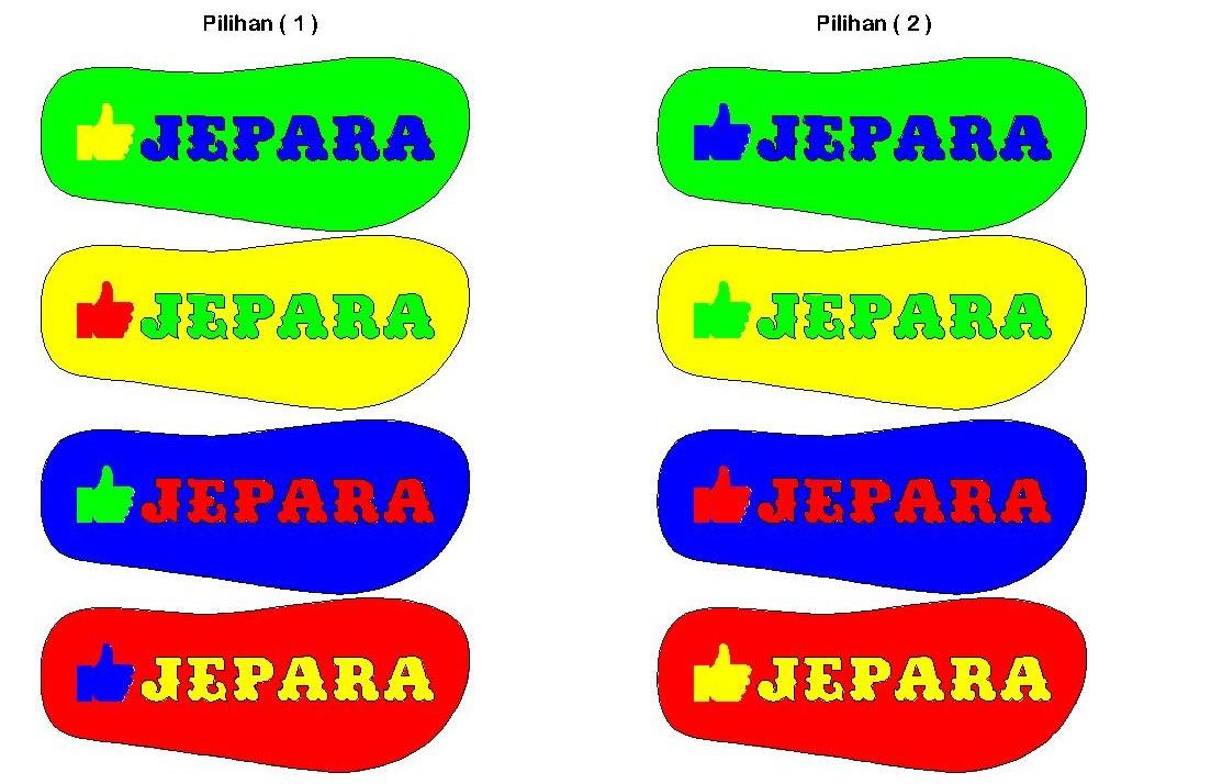 model pilihan vareasi warna yang akan dibuat