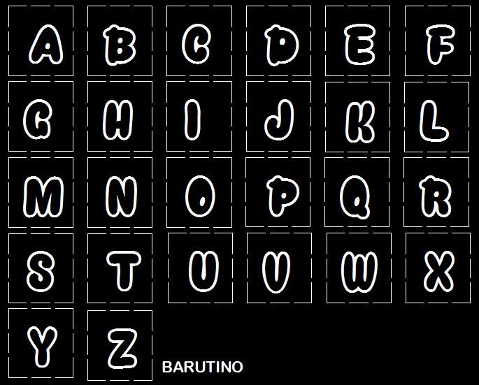 desain pisau huruf tipe font snacker comic