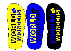 desain sandal untuk tempat rekreasi