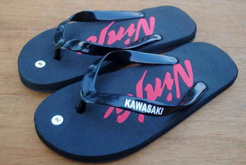 sandal assesories kawasaki