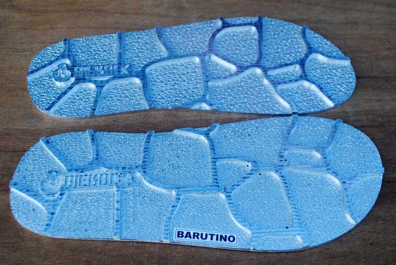 Inspirasi dari keramik outdoor sebagai motif insole sandal