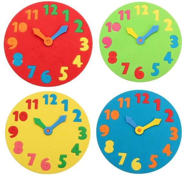 kreasi-warna-warni-jam-dari-spon-eva