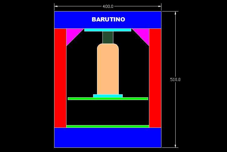 desain mesin pres manual hidrolik