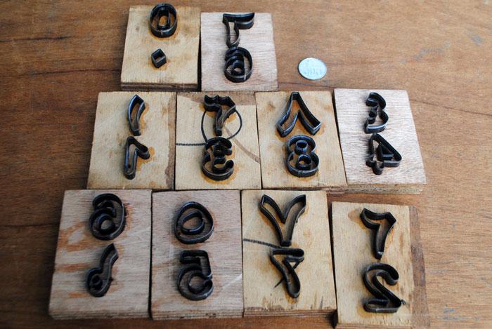 huruf dan angka arab