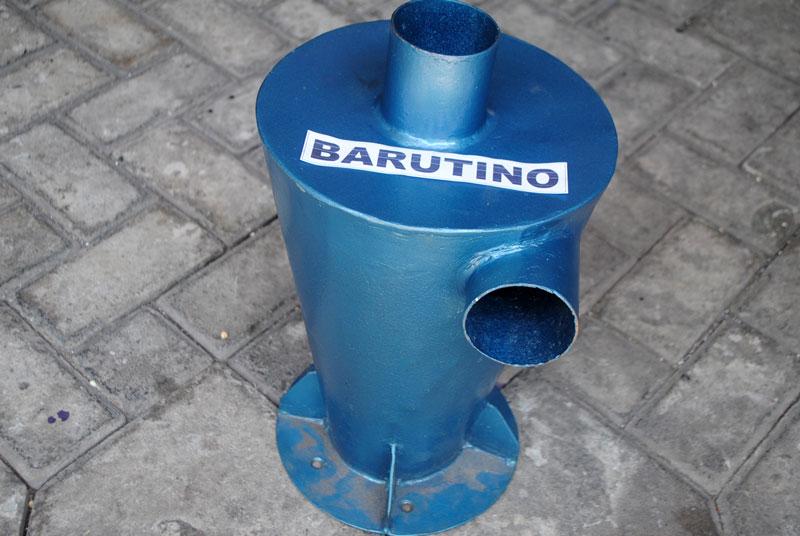 Alat untuk memisahkan debu dan udara pada mesin gerinda sandal