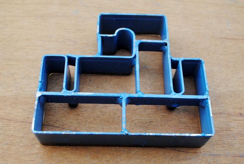 Membuat hanger sandal dari bahan sisa spon eva