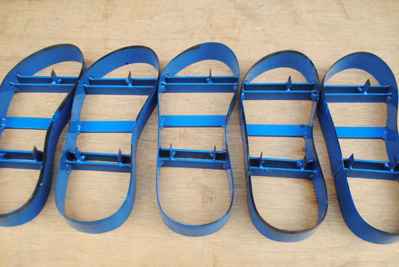 Pisau pond sandal untuk sandal tali bisban