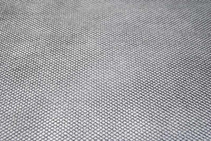 Matras embos sandal motif garis silang